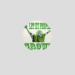Green Moses Mini Button