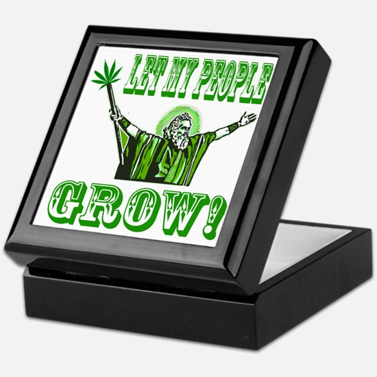 Green Moses Keepsake Box