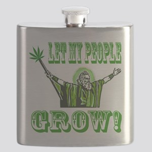 Green Moses Flask