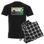 Spider Fathers Day Men's Dark Pajamas