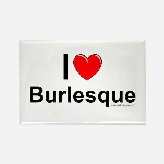 Burlesque Rectangle Magnet