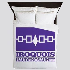 Iroquois Flag Queen Duvet