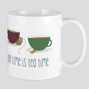 our time is tea time Mugs