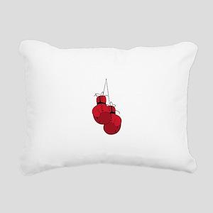 Boxing Gloves Rectangular Canvas Pillow