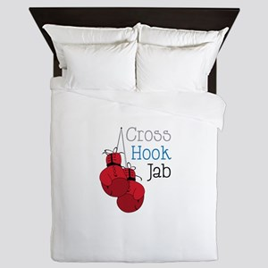 Cross Hook Jab Queen Duvet