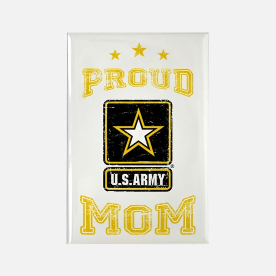 US Army proud Mom Rectangle Magnet