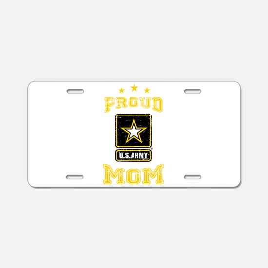 US Army proud Mom Aluminum License Plate