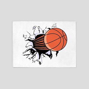 Breakthrough Basketball 5'x7'Area Rug