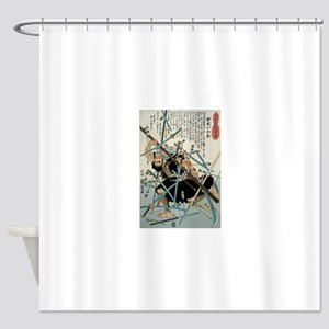 Samurai Negoro-no Komizucha Shower Curtain