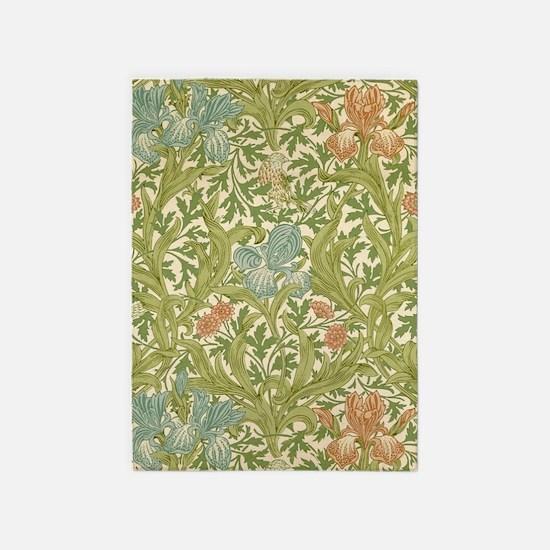 William Morris Iris 5'x7'Area Rug