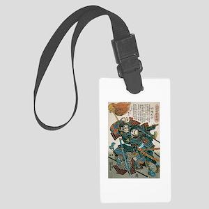Samurai Fukushima Masanori Large Luggage Tag