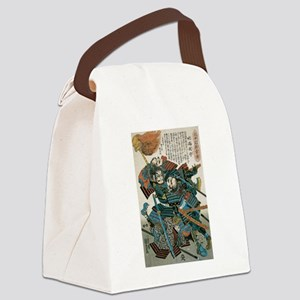 Samurai Fukushima Masanori Canvas Lunch Bag