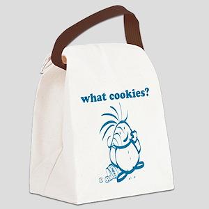 Cookies kid, What Cookies? Canvas Lunch Bag