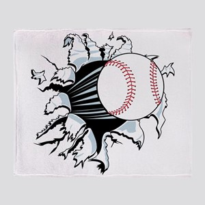 Breakthrough Baseball Throw Blanket