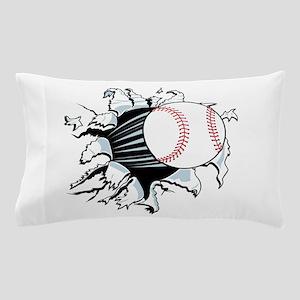 Breakthrough Baseball Pillow Case