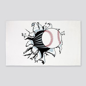 Breakthrough Baseball 3'x5' Area Rug