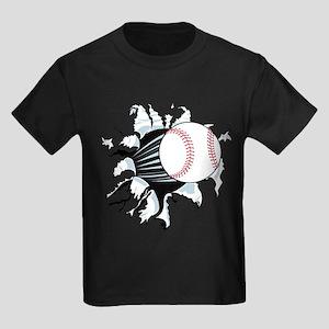 Breakthrough Baseball Kids Dark T-Shirt