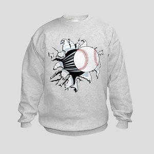 Breakthrough Baseball Kids Sweatshirt