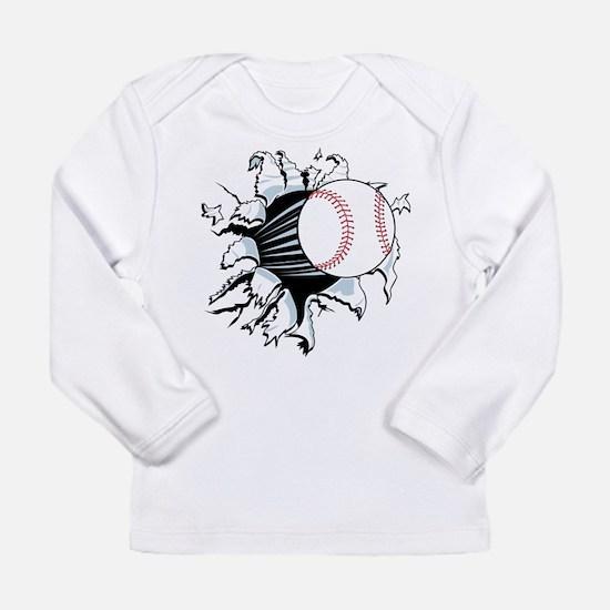 Breakthrough Baseball Long Sleeve Infant T-Shirt
