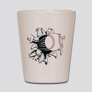 Breakthrough Baseball Shot Glass