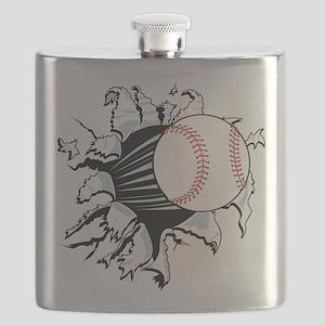 Breakthrough Baseball Flask
