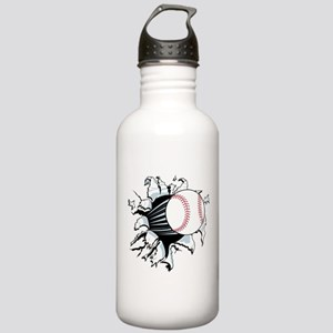 Breakthrough Baseball Stainless Water Bottle 1.0L