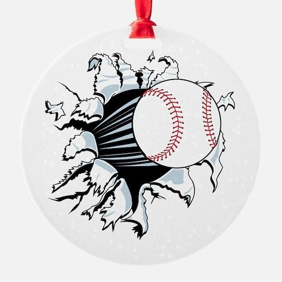 Breakthrough Baseball Ornament