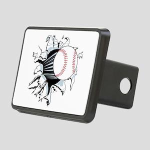 Breakthrough Baseball Rectangular Hitch Cover