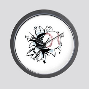 Breakthrough Baseball Wall Clock