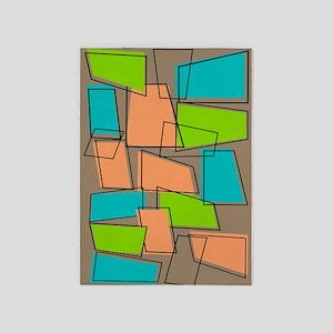 Atomic rug 2 5'x7'Area Rug