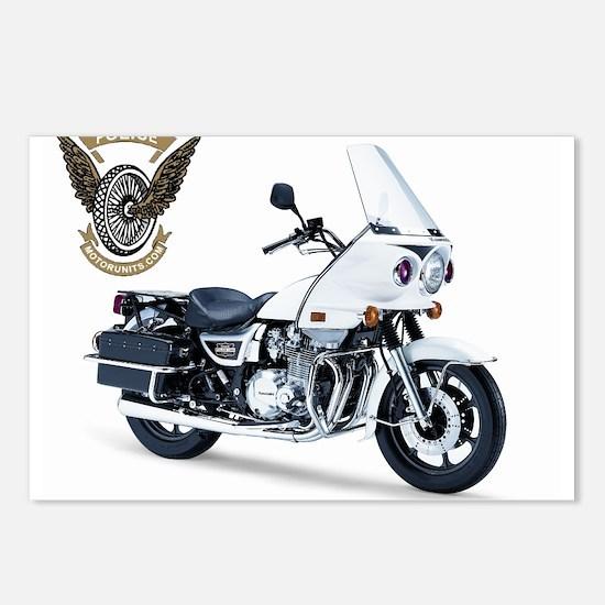 KZ with Police Motor UNits.com Logo Postcards (Pac