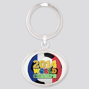 2014 World Champs Ball - France Keychains