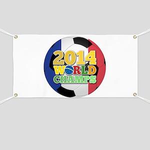 2014 World Champs Ball - France Banner