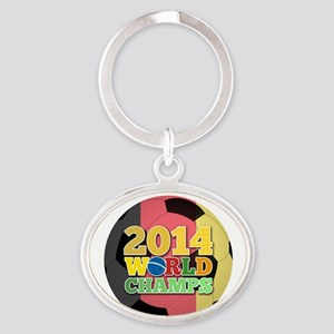 2014 World Champs Ball - Belgium Keychains