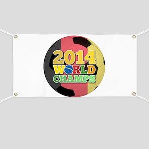 2014 World Champs Ball - Belgium Banner