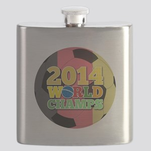 2014 World Champs Ball - Belgium Flask