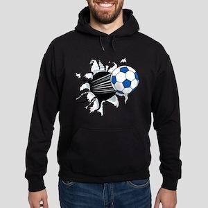 Breakthrough Soccer Ball Hoodie (dark)