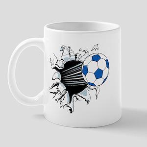Breakthrough Soccer Ball Mug