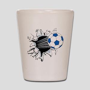 Breakthrough Soccer Ball Shot Glass