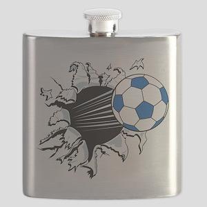 Breakthrough Soccer Ball Flask