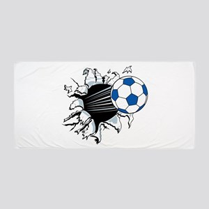 Breakthrough Soccer Ball Beach Towel