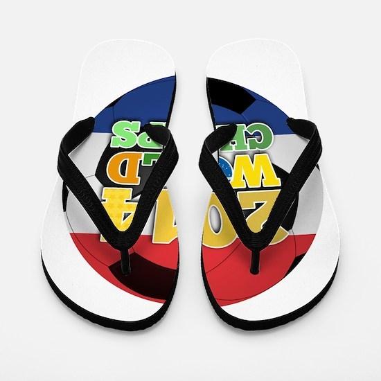 2014 World Champs Ball - Holland Flip Flops