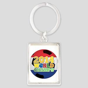 2014 World Champs Ball - Holland Keychains