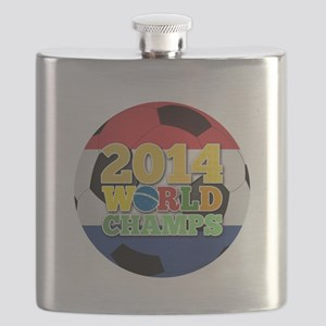 2014 World Champs Ball - Holland Flask