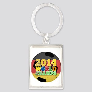 2014 World Champs Ball - Germany Keychains