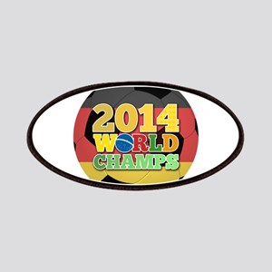 2014 World Champs Ball - Germany Patches