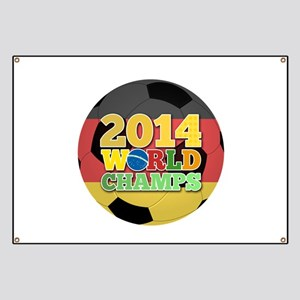 2014 World Champs Ball - Germany Banner