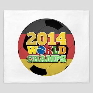 2014 World Champs Ball - Germany King Duvet