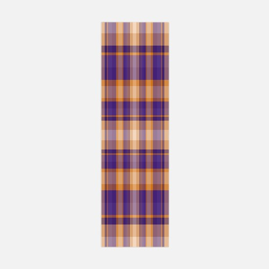 Peanut Butter and Jelly Plaid Wall Decal
