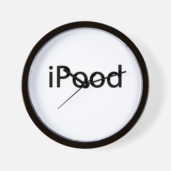 iPood Baby Humor Wall Clock